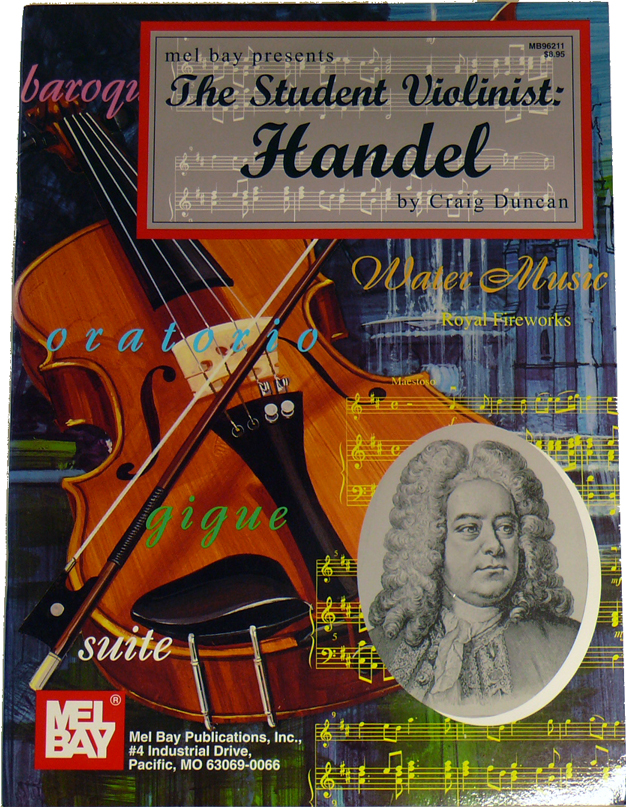 Student Violinist : Handel