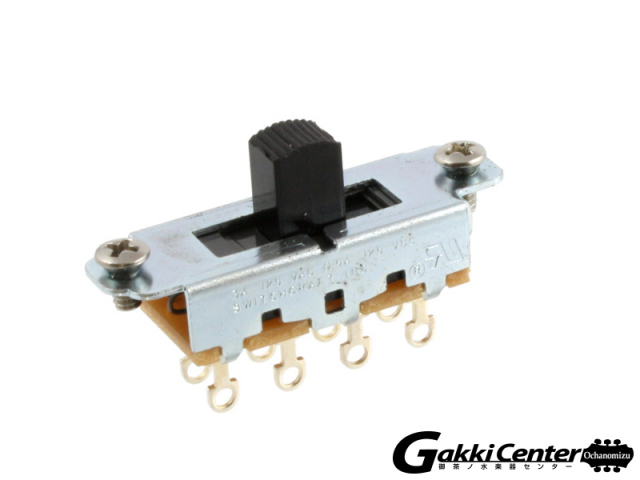 Allparts Switchcraft Black On-Off-On Slide Switch/1013