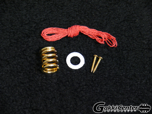 ビグスビー B60のゴールドカラー付属品