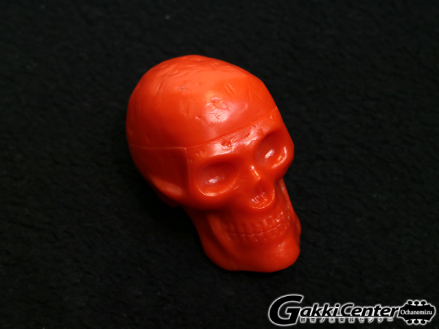 GROVER/Trophy Beadbrain Skull Shaker BB-RED