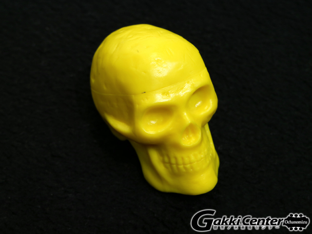 GROVER/Trophy Beadbrain Skull Shaker BB-YELLOW