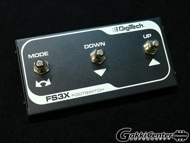 DigiTech FS3X/フットスイッチ 【店頭在庫品】