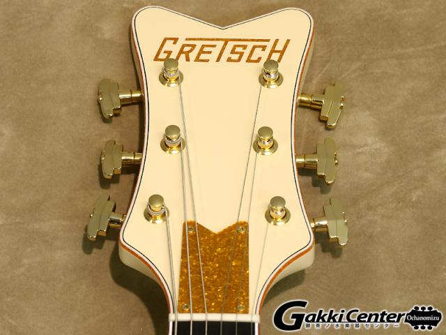 グレッチ ホワイトファルコン シグネイチャー・モデルステファン・スティルス G6136-1958のヘッド表の画像です。