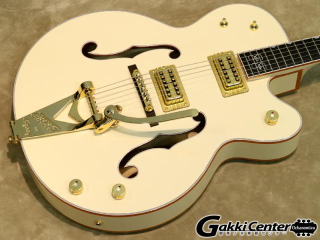 グレッチ ホワイトファルコン シグネイチャー・モデルステファン・スティルス G6136-1958のボディ表の画像です。