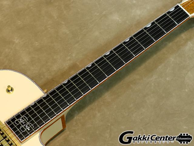 グレッチ ホワイトファルコン シグネイチャー・モデルステファン・スティルス G6136-1958のフィンガーボードの画像です。