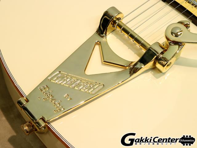 グレッチ ホワイトファルコン シグネイチャー・モデルステファン・スティルス G6136-1958のビグスビー部分の画像です。