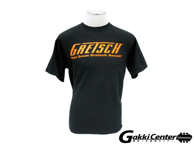 Gretsch T-shirt - That Great Gretsch Sound, Black, M-size