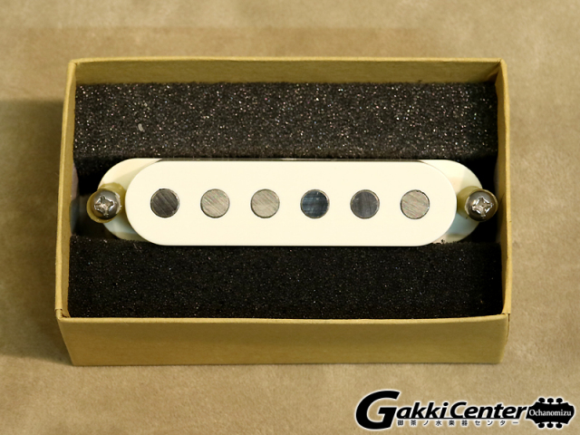 TV Jones Starwood Strat Pickup Bridge Parchment White【店頭在庫品】