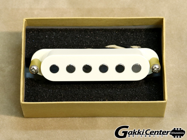 TV Jones Starwood Strat Pickup Neck Parchment White【店頭在庫品】
