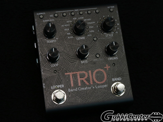 DigiTech TRIO+ Band Creator+Looper【店頭在庫品】