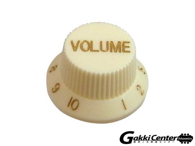 Greco グレコ WS-STD Volume Knobs (Aged White)