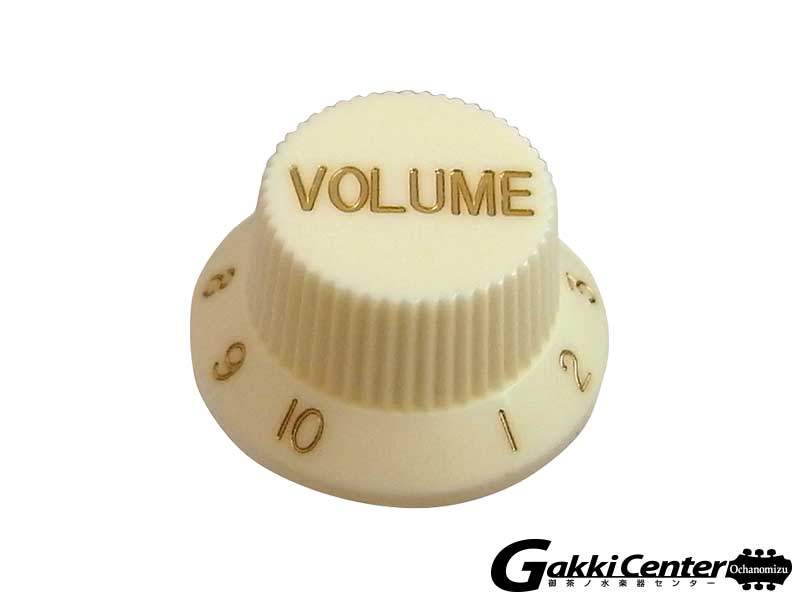 Greco グレコ WS-STD Volume Knobs (Aged White)