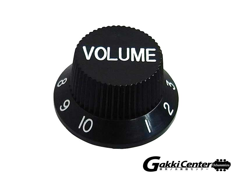 Greco グレコ WS-STD Volume Knobs (Black)