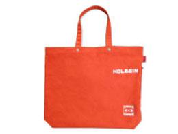 ホルベイン キャンバストートバッグ F8 オレンジ