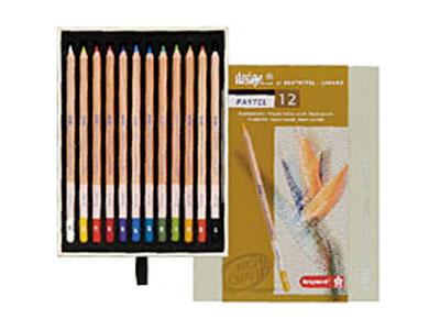 デザイン パステル鉛筆12色セット