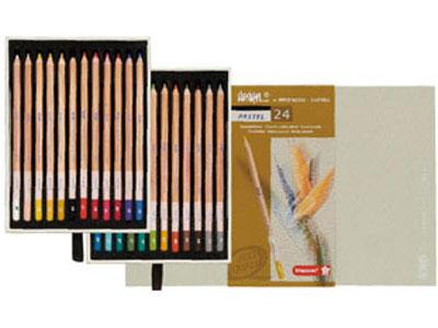 デザイン パステル鉛筆24色セット
