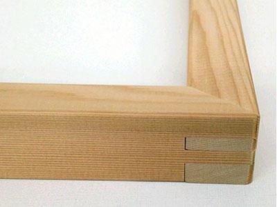 那須野(ナスノ)木枠/3D木枠 杉集成材