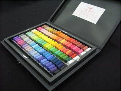 ゴンドラ・ソフトパステル 120色デザイナー用セット(黒箱)