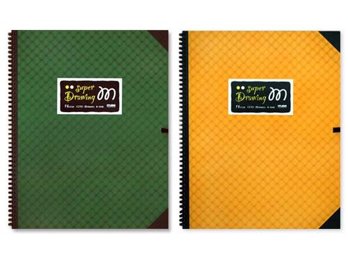 ミューズ M画ブック(M-3506) スパイラル20枚綴じ ヒモつき
