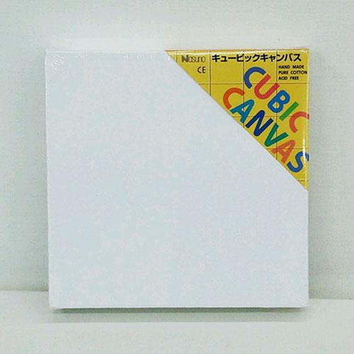 ナスノ キュービック カラーキャンバス ホワイト 300×300×38