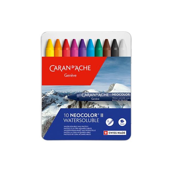 カランダッシュ ネオカラー2 10色セット(水溶性パステル)