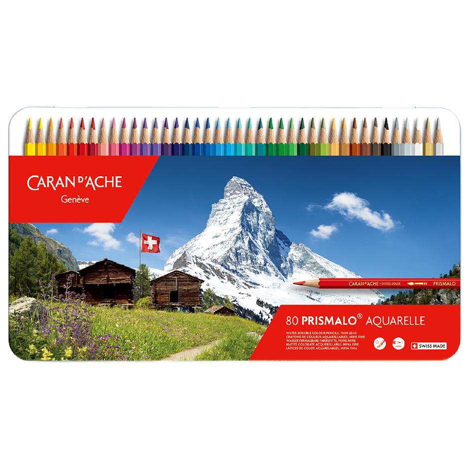 カランダッシュ プリズマロ(水溶性色鉛筆・堅芯) 80色セット