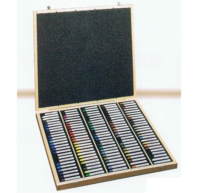 セヌリエ オイルパステル 120本セット(全色木箱入)