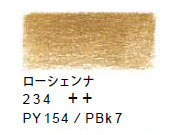 ヴァンゴッホ色鉛筆 234 ローシェンナ