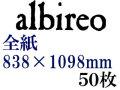 ホルベイン アルビレオ水彩紙 218g 中目 全判(838×1098mm) 50枚