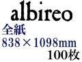 ホルベイン アルビレオ水彩紙 218g 中目 全判(838×1098mm) 100枚