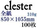 ホルベイン クレスター水彩紙 中目 310g(特厚口) 全紙(850×1055mm) 100枚