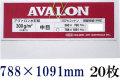 アヴァロン 水彩紙 中目 300g 788×1091mm 20枚組