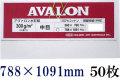 アヴァロン 水彩紙  中目 300g 788×1091mm 50枚組