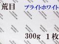アルシュ水彩紙 ブライトホワイト 荒目 300g 560×760mm 1枚組