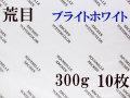 アルシュ水彩紙 ブライトホワイト 荒目 300g 560×760mm 10枚組