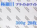 アルシュ水彩紙 ブライトホワイト 極細目 300g 560×760mm 20枚組