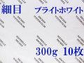 アルシュ水彩紙 ブライトホワイト 細目 300g 560×760mm 10枚組
