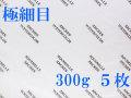 アルシュ水彩紙 極細目 300g 560×760mm 5枚組