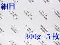 アルシュ水彩紙 細目 300g 560×760mm 5枚組
