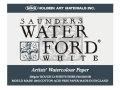 ウォーターフォード水彩紙ホワイト ブロック荒目 F6