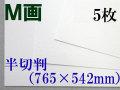 ミューズ M画用紙<特厚口210.8g> 半切判 5枚