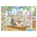 ホルベイン 七神マナ ぬりえ付き水彩画BOOK NKM-A4 [スケッチブック]