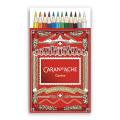 カランダッシュ プリズマロ(水溶性色鉛筆・堅芯) 12色セット<クリスマスパッケージのスリーブ付>