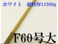 ミューズ ホワイトワトソン水彩紙 F60号大(1010×1343mm)<超特厚口300g> 3枚/1箱