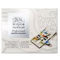 ウィンザー&ニュートン 固形水彩絵具 14色コンパクトセット (ハーフパン)