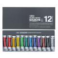 ホルベイン 不透明水彩絵具 ガッシュ G711 12色セット(5号チューブ)
