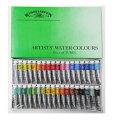 ウィンザー&ニュートン ウォーターカラー 5mlチューブ 36色セット(水彩絵具)
