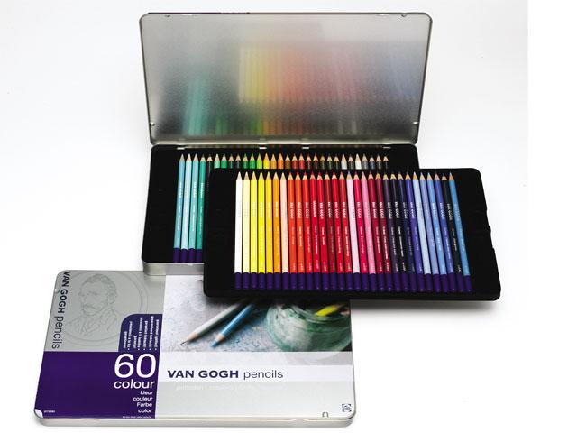 ヴァンゴッホ色鉛筆60色セット