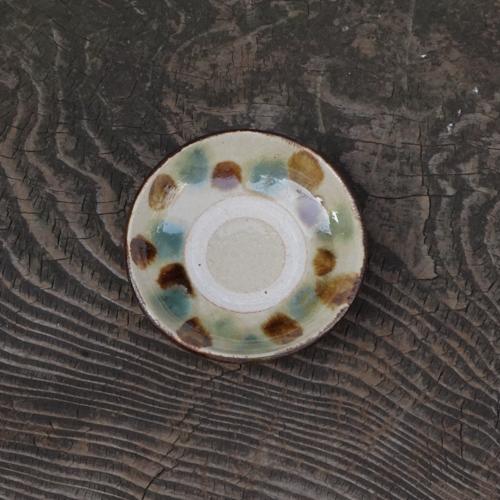 4寸皿:松田共司 :014004-9