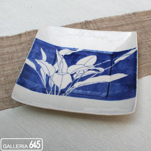 角皿 棕櫚(大):GALLERIA 645;024021